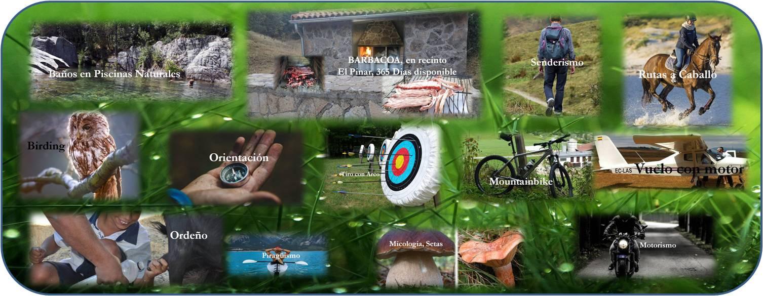 Actividades deportivas desde casa rural Avila Gredos